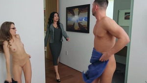 Wife came in room when I fuck young slut Kimmy Granger!