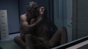 Squirting anal slut Adriana Chechik fucked in poloce!