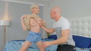 Big titty lesbian roommate let to lick her pussy free porn tube